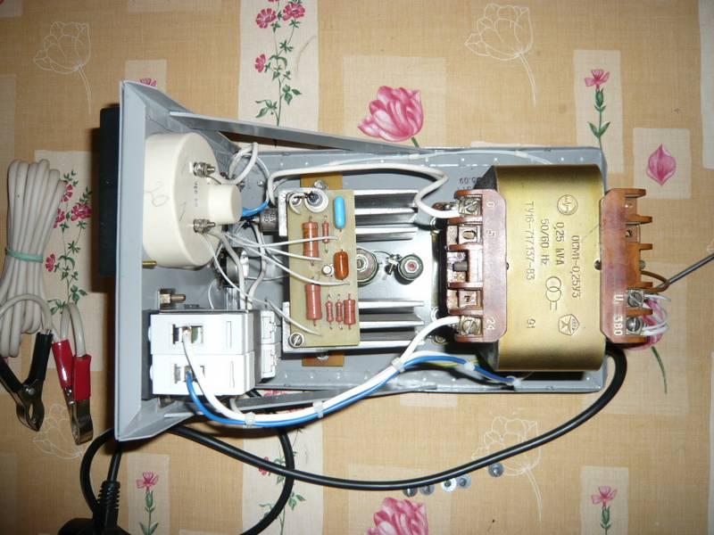 Как из трансформатора сделать зарядное устройство для  949