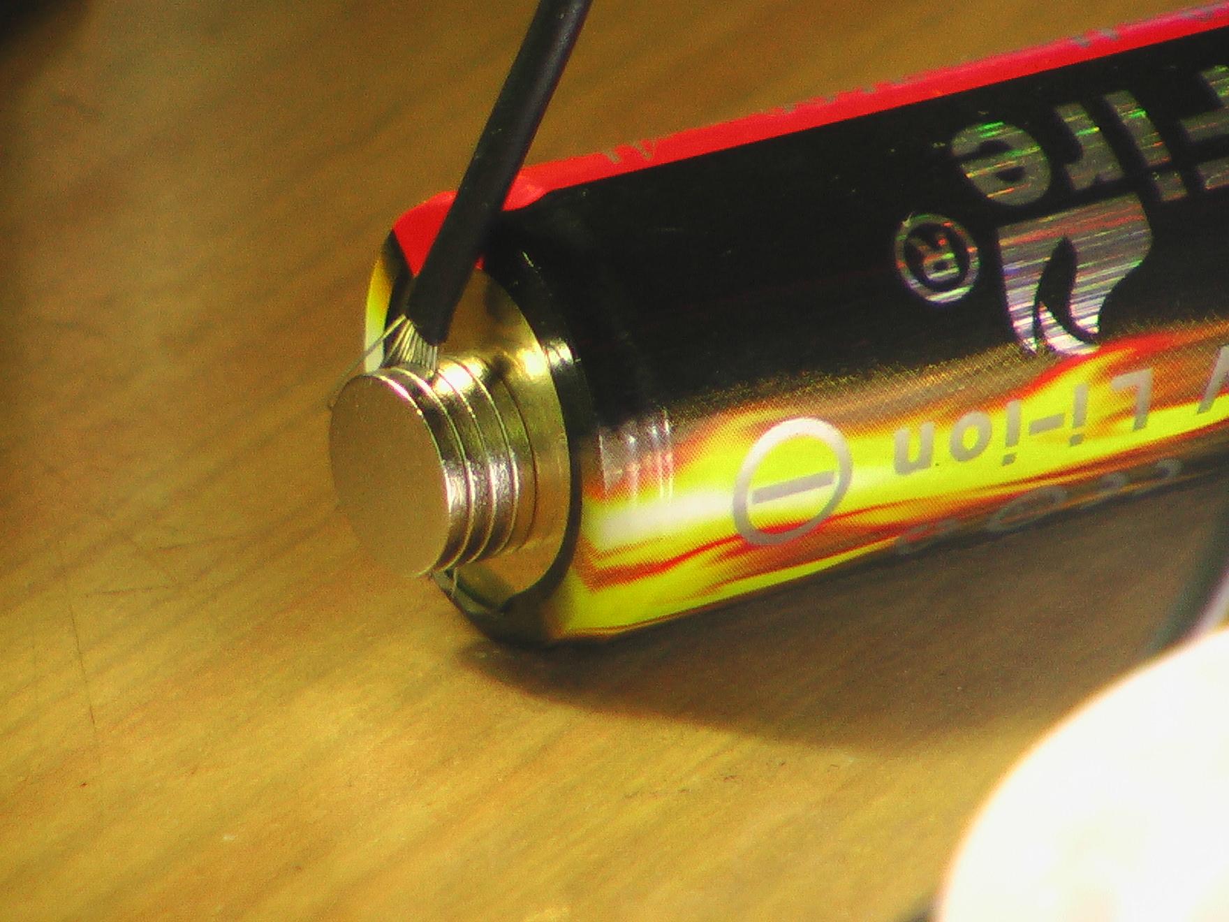 Неодимовые магниты вместо клемм