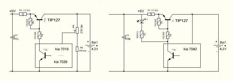 Простейшие зарядники для лития (импульсным током)