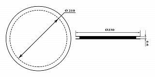 Каркас катушки металлодетектора