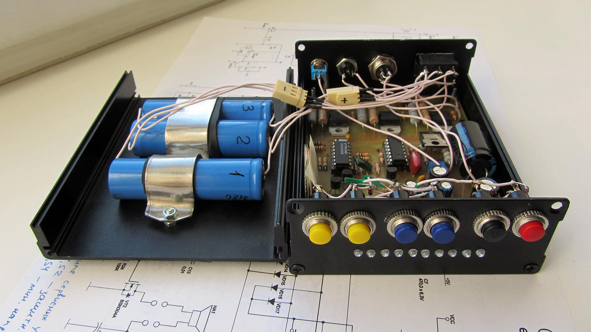 Корпус для металлоискателя Clone Pi-W