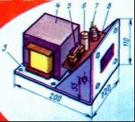 Импульсный сварочный аппарат - силовой блок