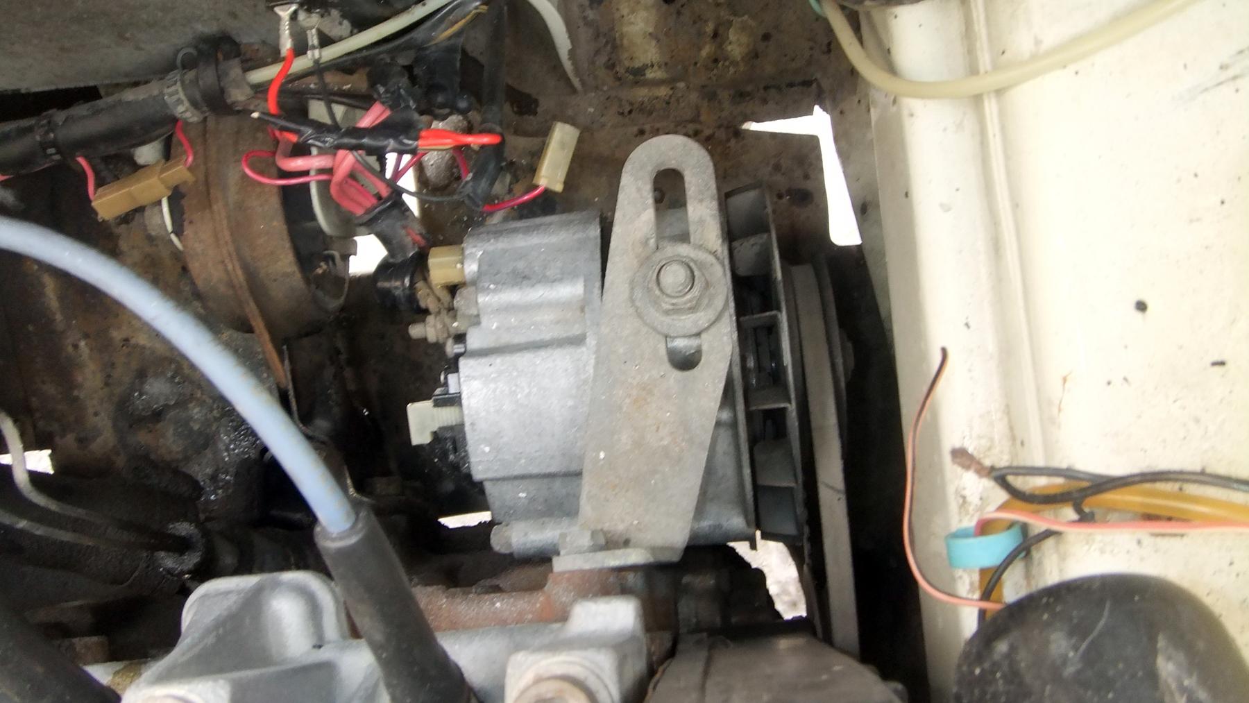 Замена генератора 21099