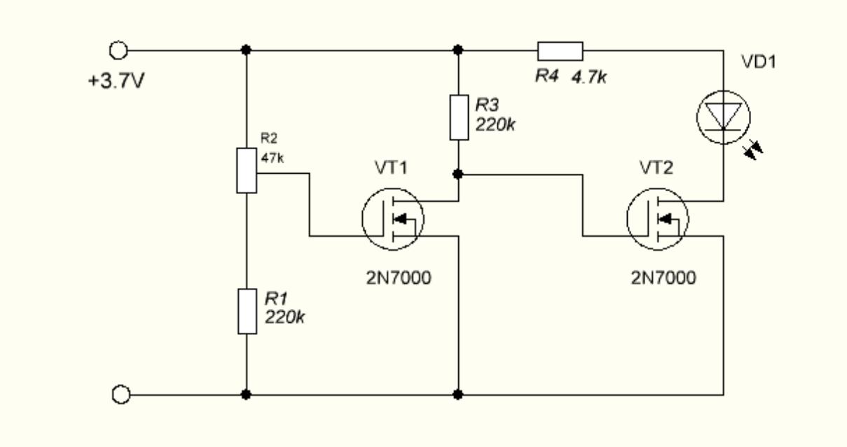 Контроль разряда аккумулятора своими руками 3