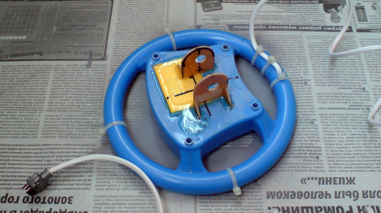 Катушка для металлоискателя из руля