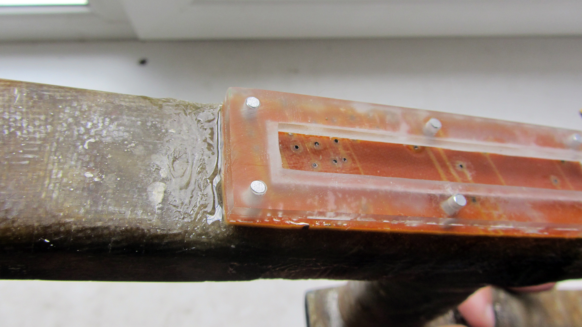 Труба из стеклоткани своими руками 92