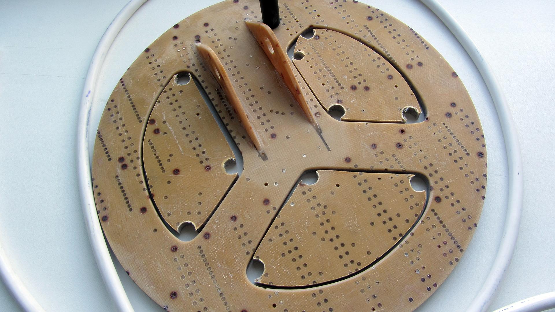 Как облегчить катушку металлоискателя