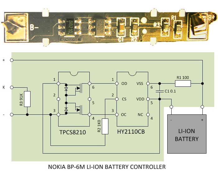 PCB Nokia BP-6M