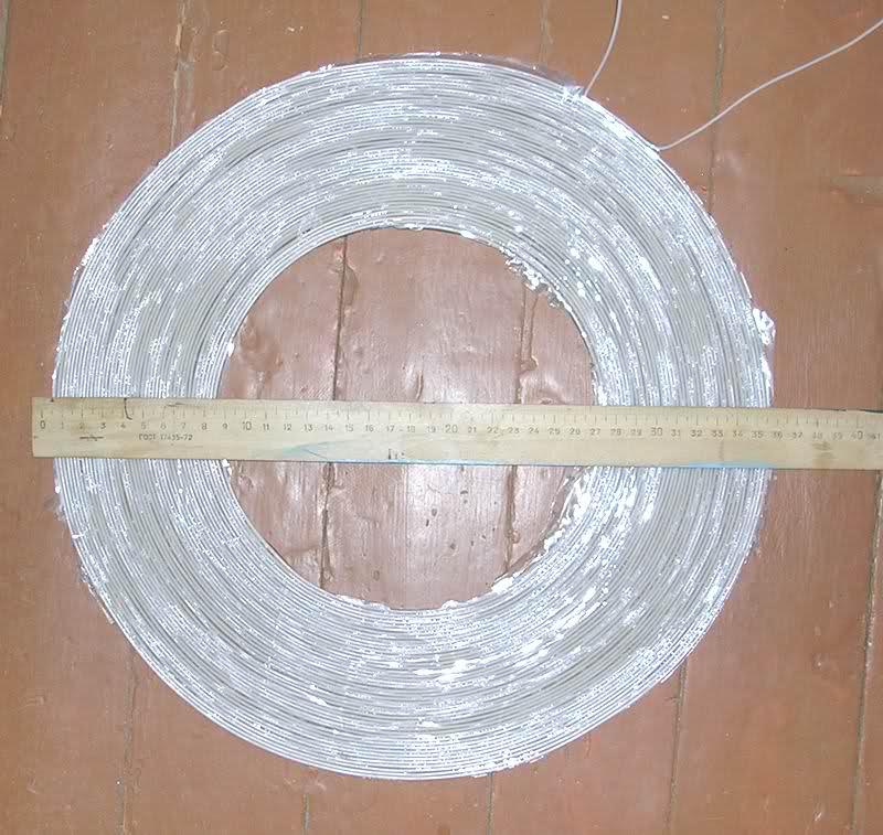 Настоящая планарная катушка для металлоискателя