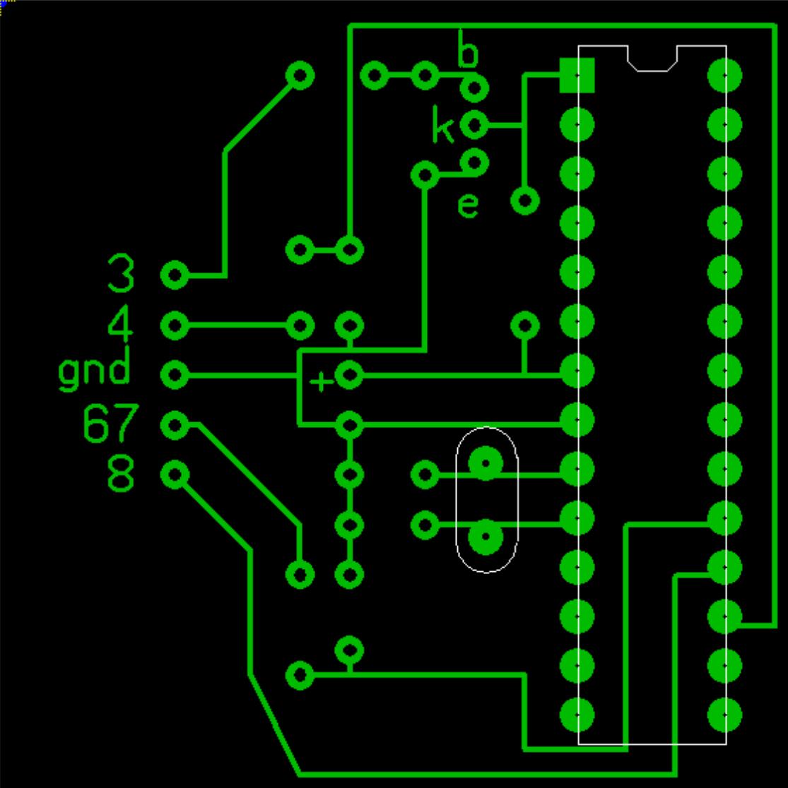 Простейший программатор для ATmega8