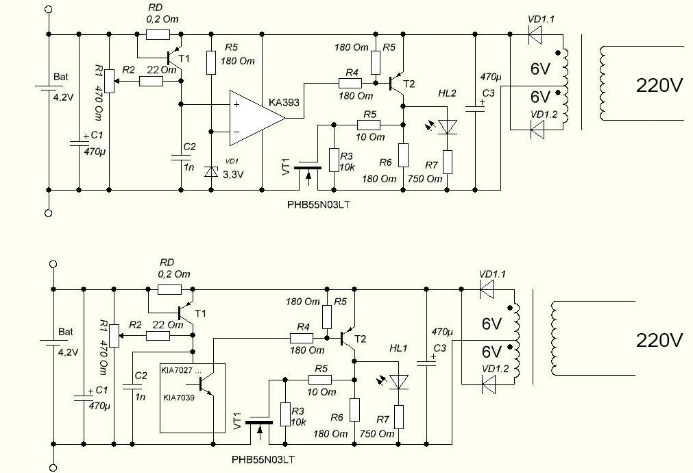 Импульсная зарядка для li-ion