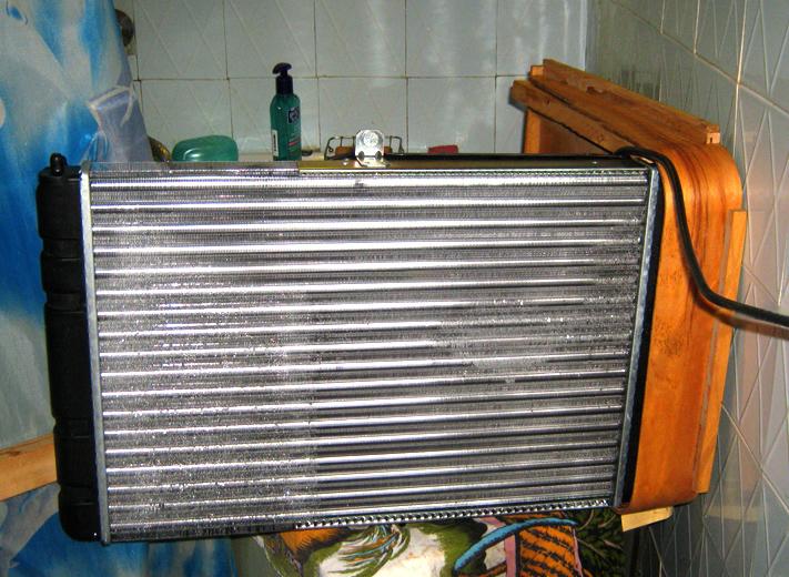 автомобильного радиатора
