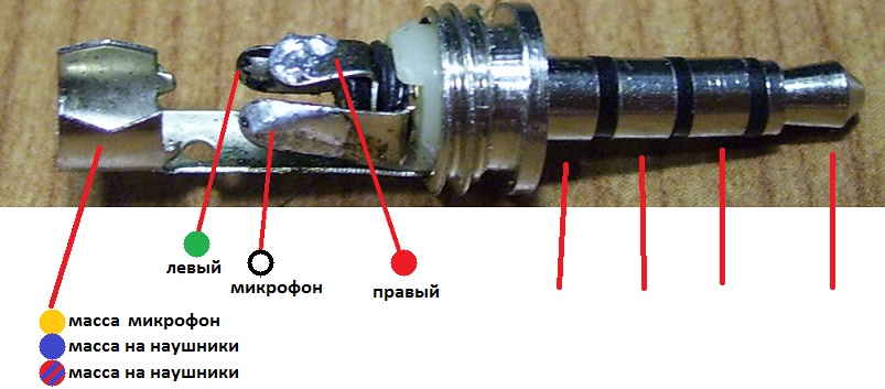 Как припаять штекер к 5 проводам