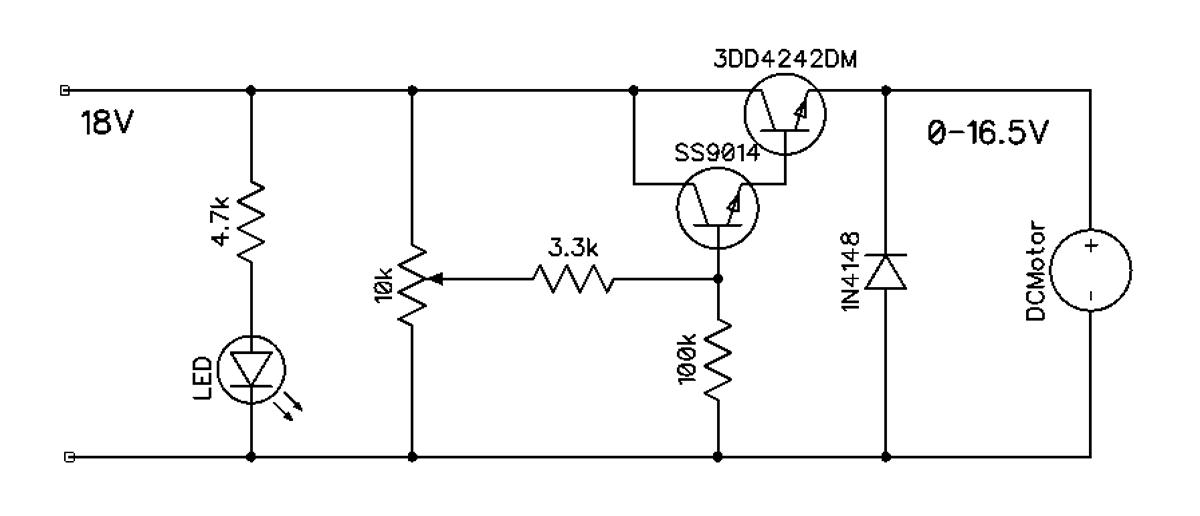 Схема регулятора оборотов шаровой мельницы