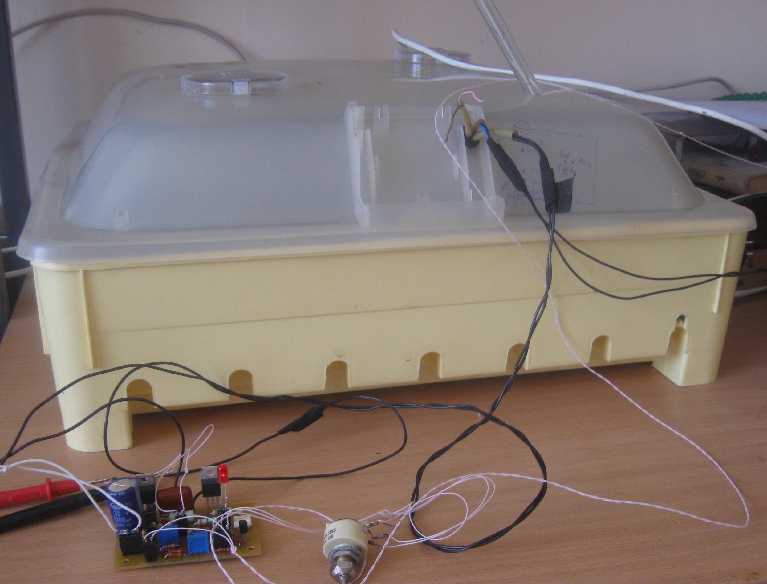 Пропорциональный термостабилизатор своими руками