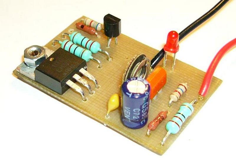 Зарядка для литий-ионных аккумуляторов на лм317