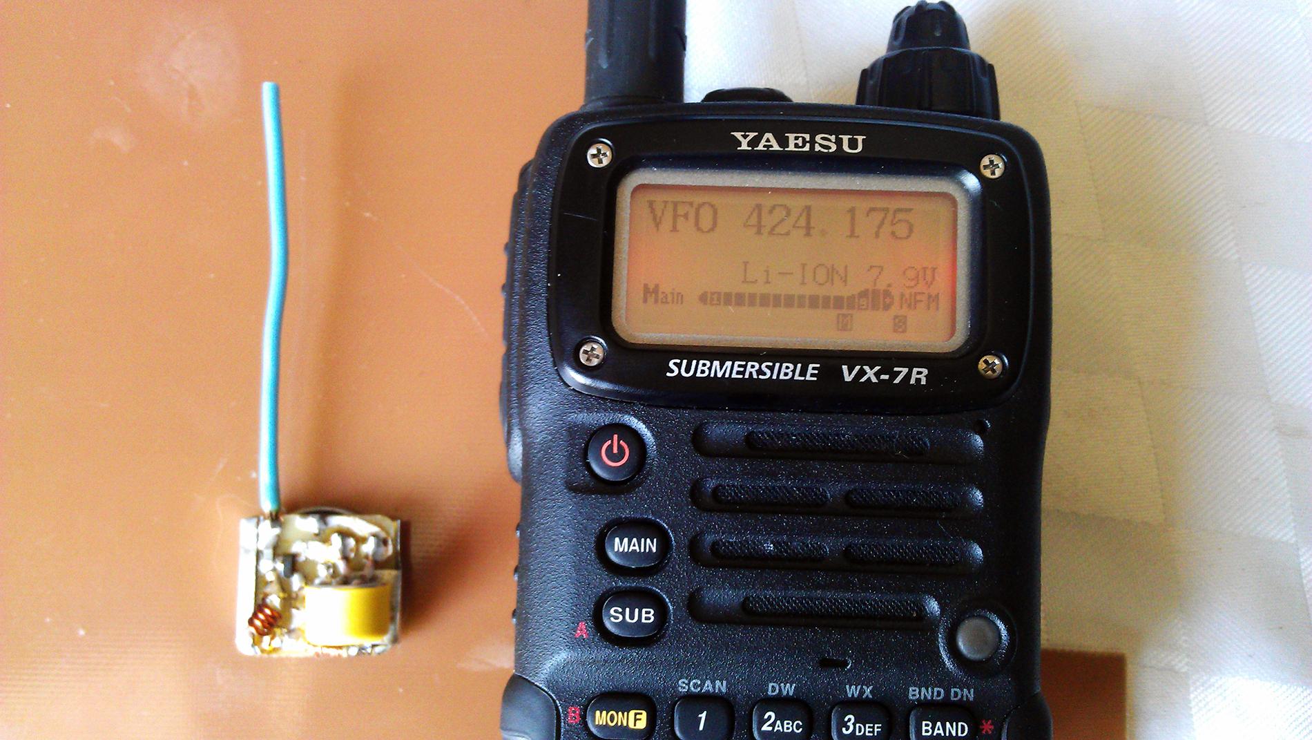 Жучок на 424 МГц